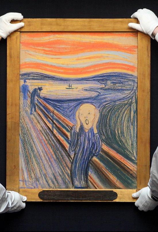 Edvard Munch, un artista desesperado