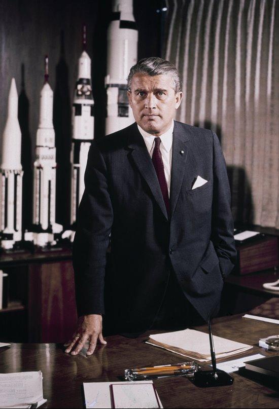 Wernher Von Braun, el artífice de la conquista de la Luna