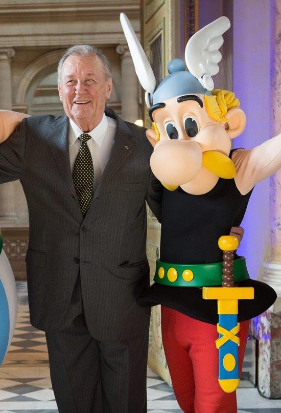 """Albert Uderzo, el """"padre"""" de Astérix"""