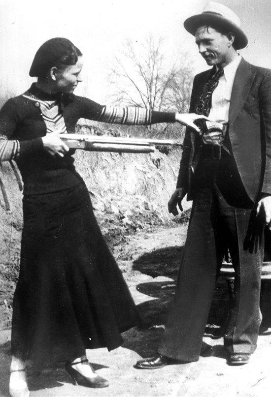 Bonnie y Clyde, forajidos de leyenda