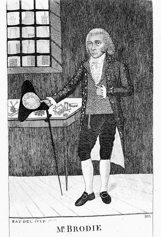 William Brodie, comerciante de día y ladrón de noche