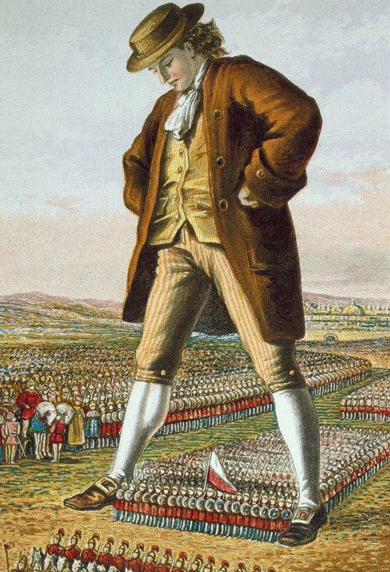 "Jonathan Swift, autor de ""Los viajes de Gulliver"""