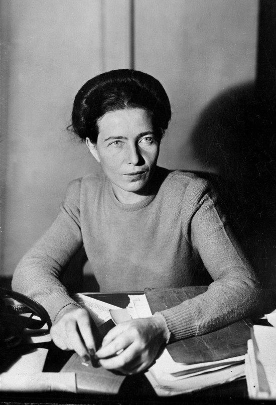 Simone de Beauvoir, la filósofa existencialista y feminista