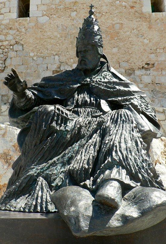 Benedicto XIII, el papa que se mantuvo en sus trece