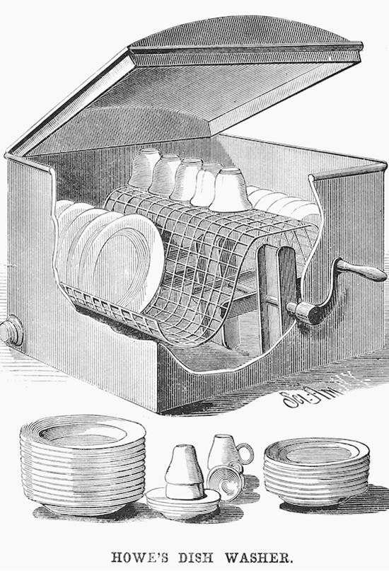 Josephine Garis Cochrane y la invención del lavavajillas