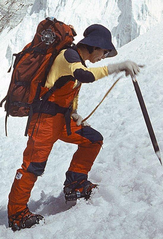Junko Tabei, la primera mujer en coronar el Everest