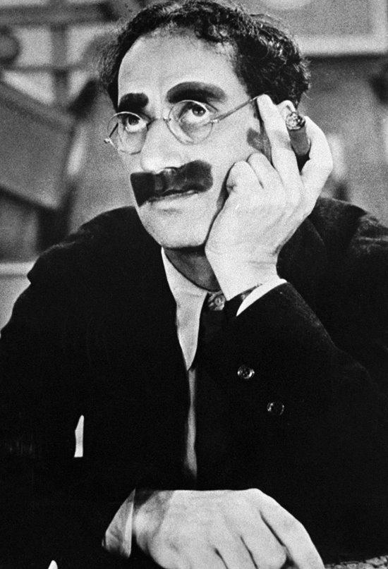 Groucho Marx, el cómico mujeriego e impertinente