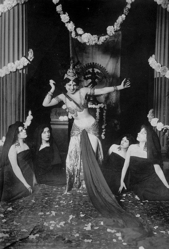 Mata Hari, la historia trágica de una mujer no tan fatal